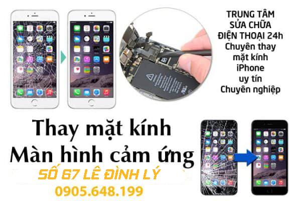 Thay Ép Mặt Kính iPhone Tại Đà Nẵng
