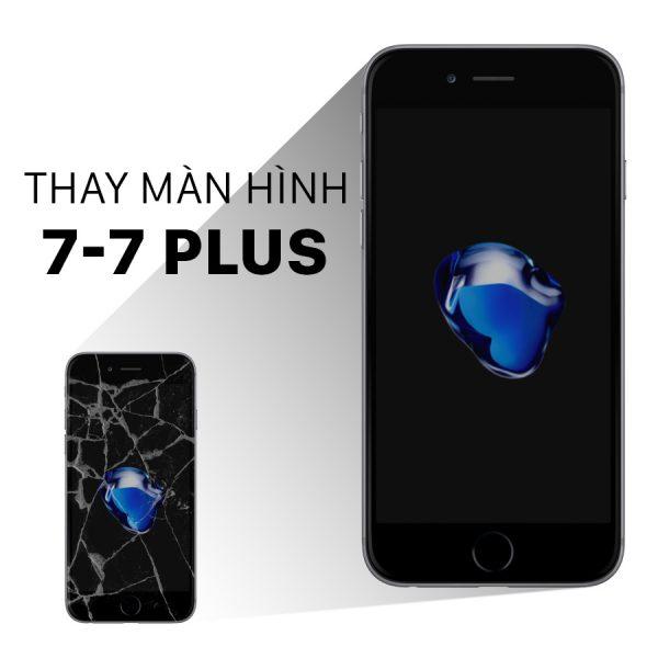 Quy Trình Thay Màn Hình iPhone 7 Plus